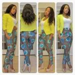 african print pant dresses 2017