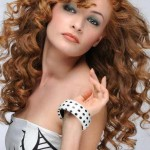 hairstyles for long curly hair with bangs 2017