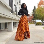 african print high low skirts 2016 2017