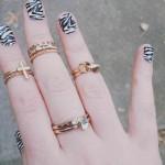 zebra nail art designs for 2016 2017