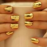 top gold nail art designs 2016 2017