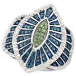 blue diamond ring designs 2016 2017