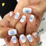 white nail art designs and ideas 2017