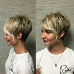 pixie cut with side bangs 2017