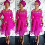 beautiful asoebi in lace style 2016 and 2017