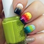 colourful nail art designs 2017