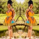 2017 Latest African Short Gown Styles
