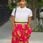 ~ ~ african print bow skirts 2017 ~ ~