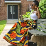 styles of ankara maxi skirts 2017