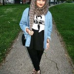 Hijab Styles for Short Height Girls 2017