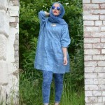 styles casual look with hijab 2017