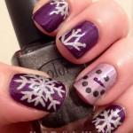 Christmas Nail Art Ideas & Designs 2017