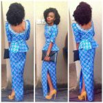 latest skirt and blouse in nigeria 2017