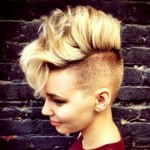 curly weave mohawk hairstyles 2017