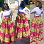 Ankara Maxi Skirts Styles For 2017