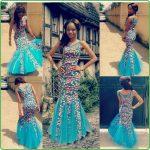 ankara long dresses style for 2017