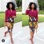 Ankara Styles LookBook & Blouses 2017