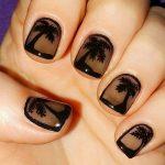 palm tree nail art designs 2017