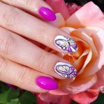 Unique Butterfly Nail Designs 2017