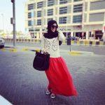muslimah long skirts styles 2017