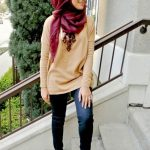 everyday hijab styling fashion 2017