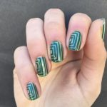 negative space nail art designs 2017
