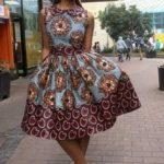 lovely top kitenge short dresses in 2017
