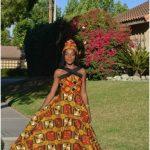 trendy nigerian kitenge dress designs 2017