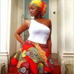 Kitenge rok ontwerp foto's