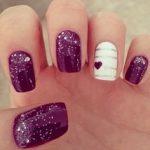 best valentine day nail art 2017