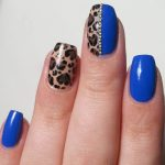 2017  Royal Blue Nail Art Designs