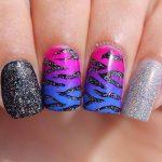 amazing glitter nail art designs 2017