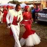 beautiful bride in shweshwe 2017 2018