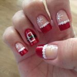 christmas nail art  ideas 2017 -18