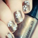 wonderful winter nail art ideas 2017