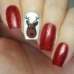 Awesome Christmas Nail Art Design